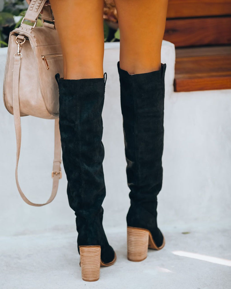 Saint Slouch Boot - Black oh!My Lady