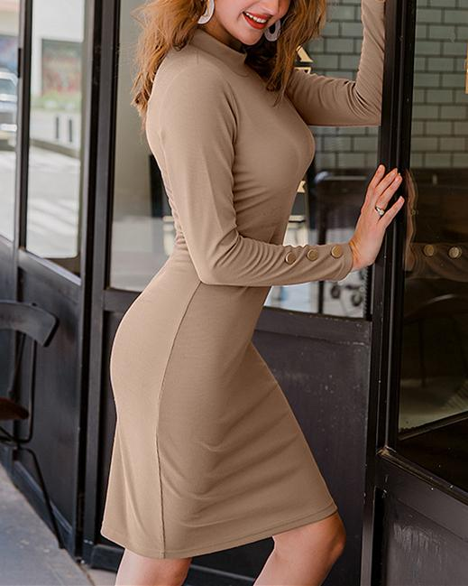 Sexy Silm Tight Knee-length Dress oh!My Lady
