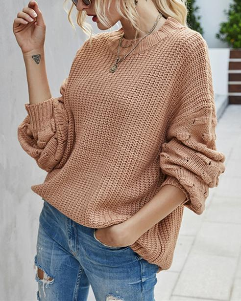 Sunday Love Sweater - Brick Red oh!My Lady