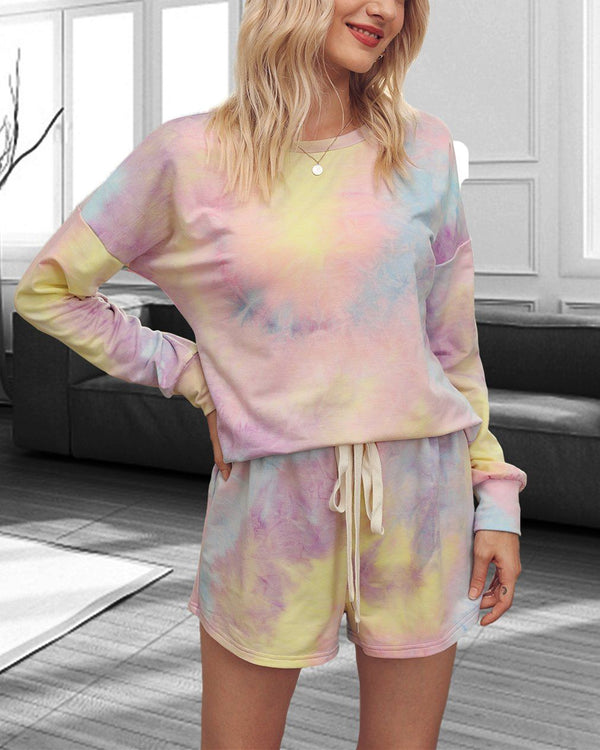 Tie-Dyed Cotton Casual Suit - Starry Sky oh!My Lady