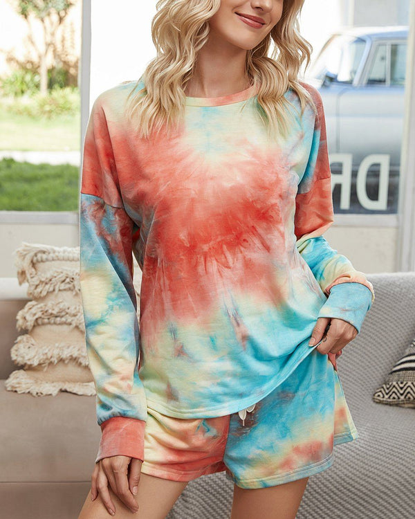 Tie-Dyed Cotton Casual Suit - The Wizard of Oz oh!My Lady