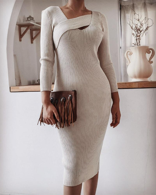 Winter Is Coming Knitted Dress oh!My Lady