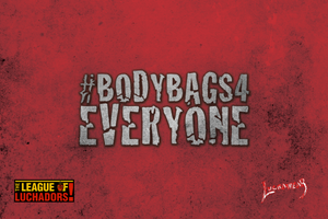 "MR. GRIM (USA) ""Body Bags 4 Everyone"" Face Mask by @Maz_Trece"