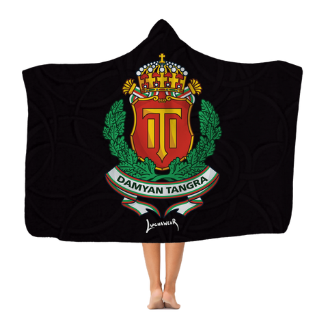 Damyan Tangra (BGR) Coat of Arms Hooded Blanket