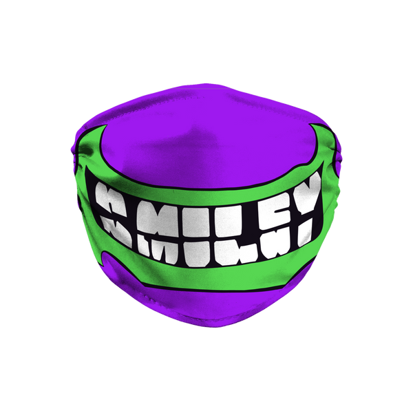 "SMILEY (USA) ""Horror Smilez"" Face Mask by @JackPurcellink"
