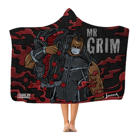 Mr Grim (USA) Cov Killer Hooded Blanket