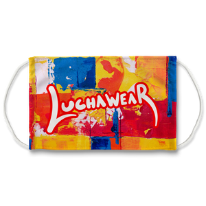 "Luchawear ""Love All Colors"" Face Mask"