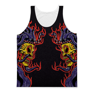 SUPAY (BOLIVIA) Unisex Adult Tank Top by @MazTrece