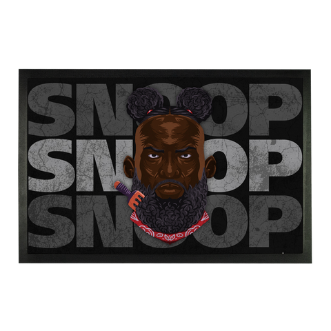 SNOOP STRIKES (USA) by @Maz_Trece Sublimation Doormat