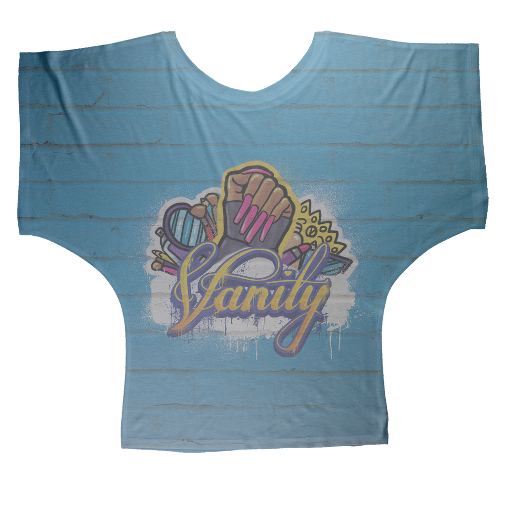 Vanity by @Maz_Trece Sublimation Batwing Top