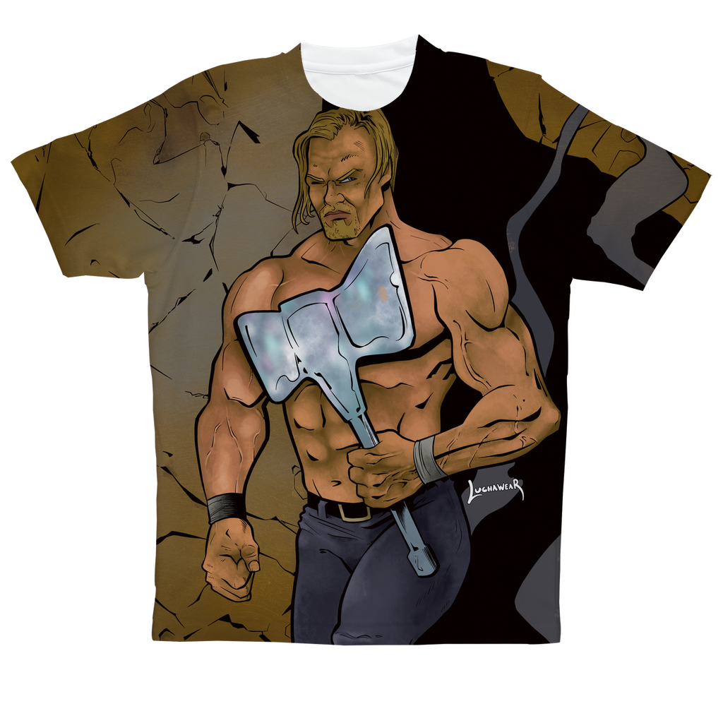 Alex Hammerstone (USA) by @JackPurcellink Sublimation Performance Adult T-Shirt