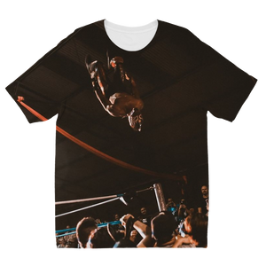 "ZENSHI (USA) ""Double Moonsault"" Kids T-Shirt"