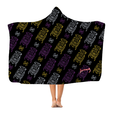 "MORTIS (BOLIVIA) ""Dance, Dance, Repeat"" Hooded Blanket by @Maz_Trece"