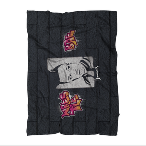VANITY (USA) by @Maz_Trece Sublimation Throw Blanket