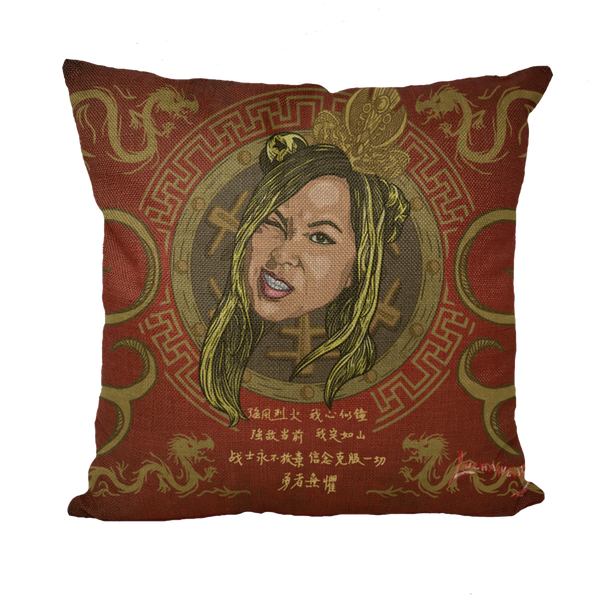 "ZEDA ZHANG (CHINA) ""Sweet Daddy"" Throw Pillow by @Maz_Trece"