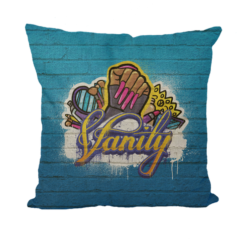 Vanity by @Maz_Trece Throw Pillows