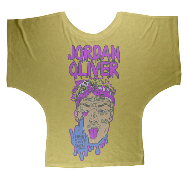 Jordan Oliver (USA) Clout Man Women's Wear Batwing Top