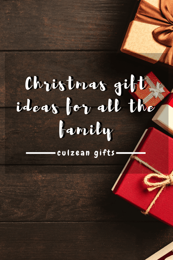 Christmas Gift Ideas For all the family!