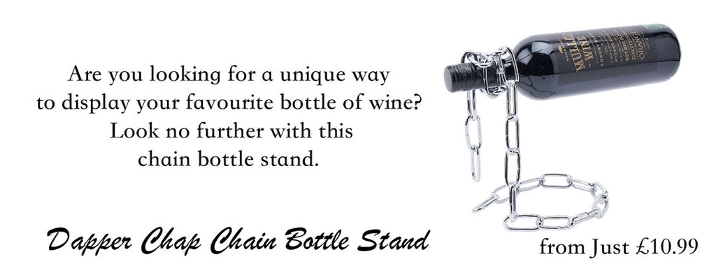 chain bottle stand