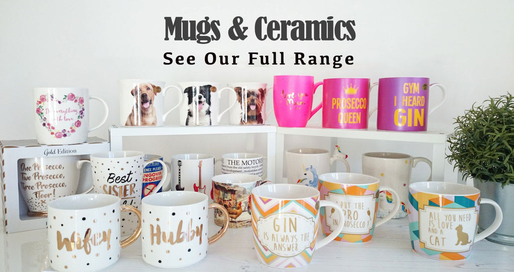 Great range of mugs to suit everyone