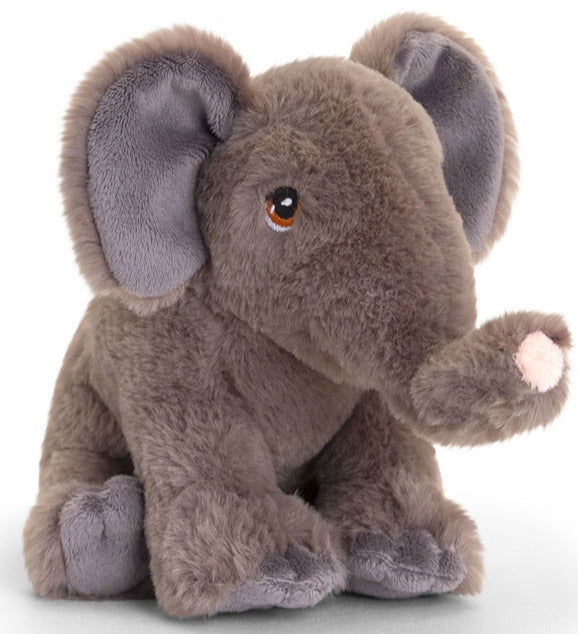 Plush Teddy Made From 100% Recycled Plastic - Elephant 18cm