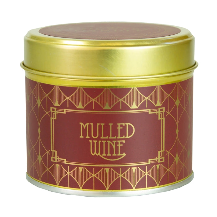 Happy Hour Candle In Tin Mulled Wine