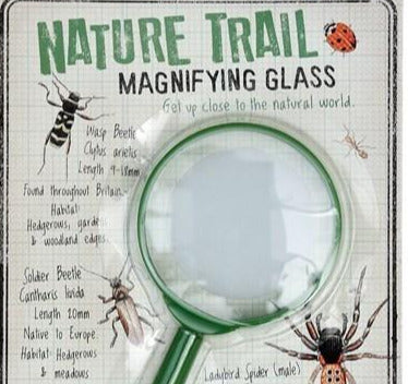 Nature Trail Magnifying Glass 18cm