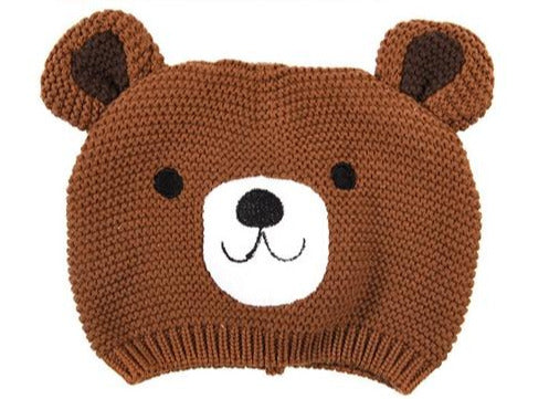 Bruno The Bear Baby Hat 17cm - Culzean Gifts