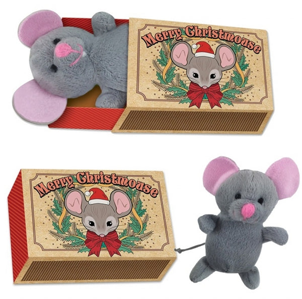Christmas Mouse In A Box