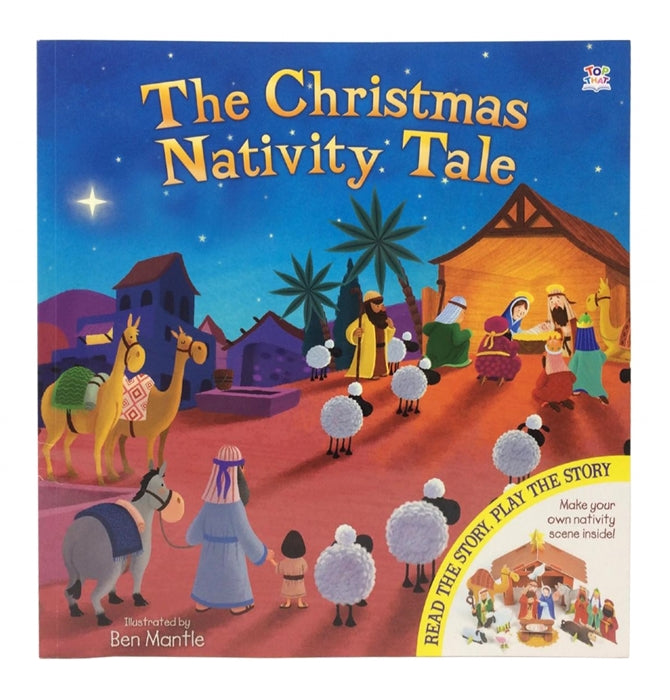 Play Along Christmas Nativity Tale Book