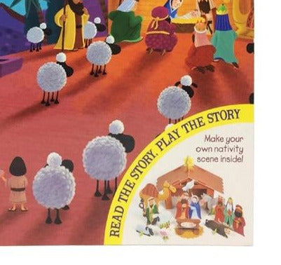 Play Along Christmas Nativity Tale Book - Culzean Gifts