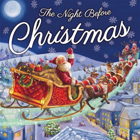 Night Before Christmas Book 25cm