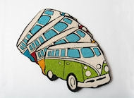 Campervan Doormat 4 Assorted 69cm - Culzean Gifts