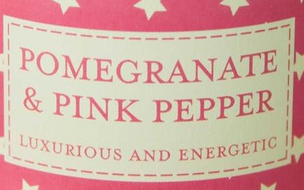 Superstars Candle in Tin - Pomegranate & Pink Pepper