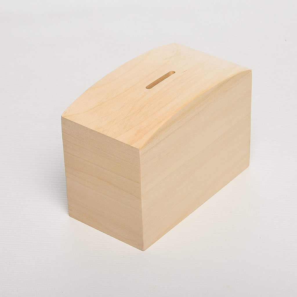 Personalised Wood Money Box - Culzean Gifts