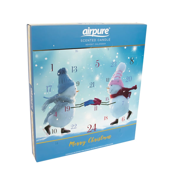 Candle Advent Calendar Gift Set - Snow People