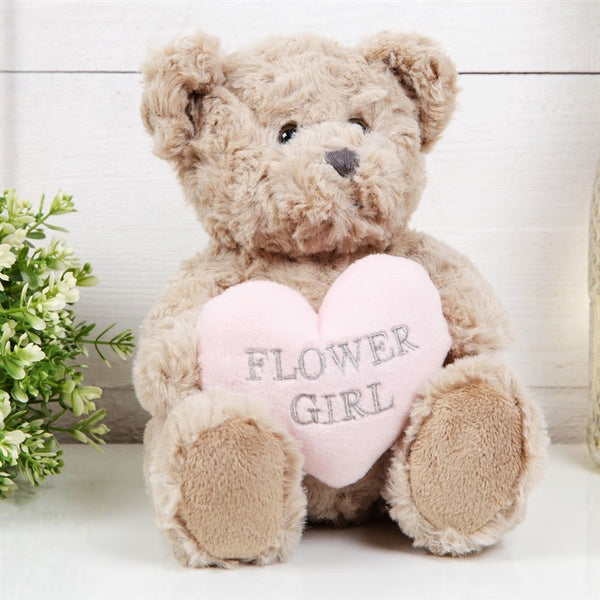 Will You Be My Flower Girl Teddy Bear 20cm
