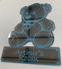 Personalised Engraved Teddy Bear Mirror - Culzean Gifts