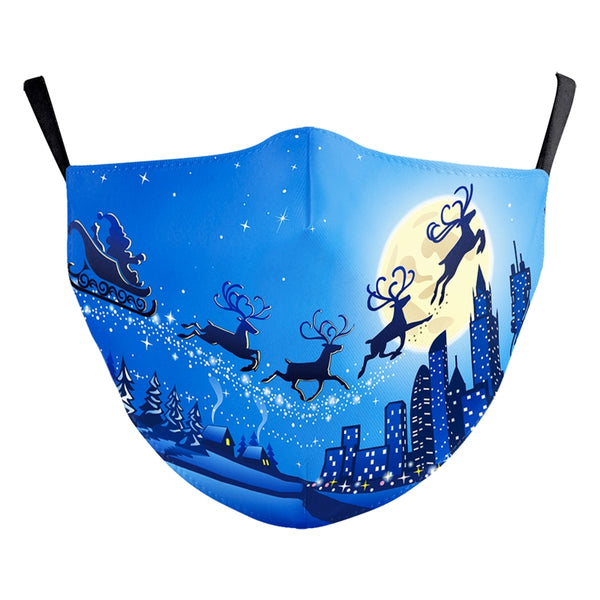 Reusable Face Mask - Sleigh