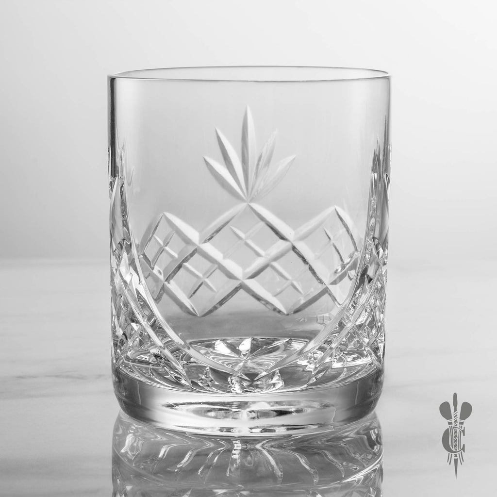 Blenheim Crystal Personalised Engraved Whisky Glass - Culzean Gifts