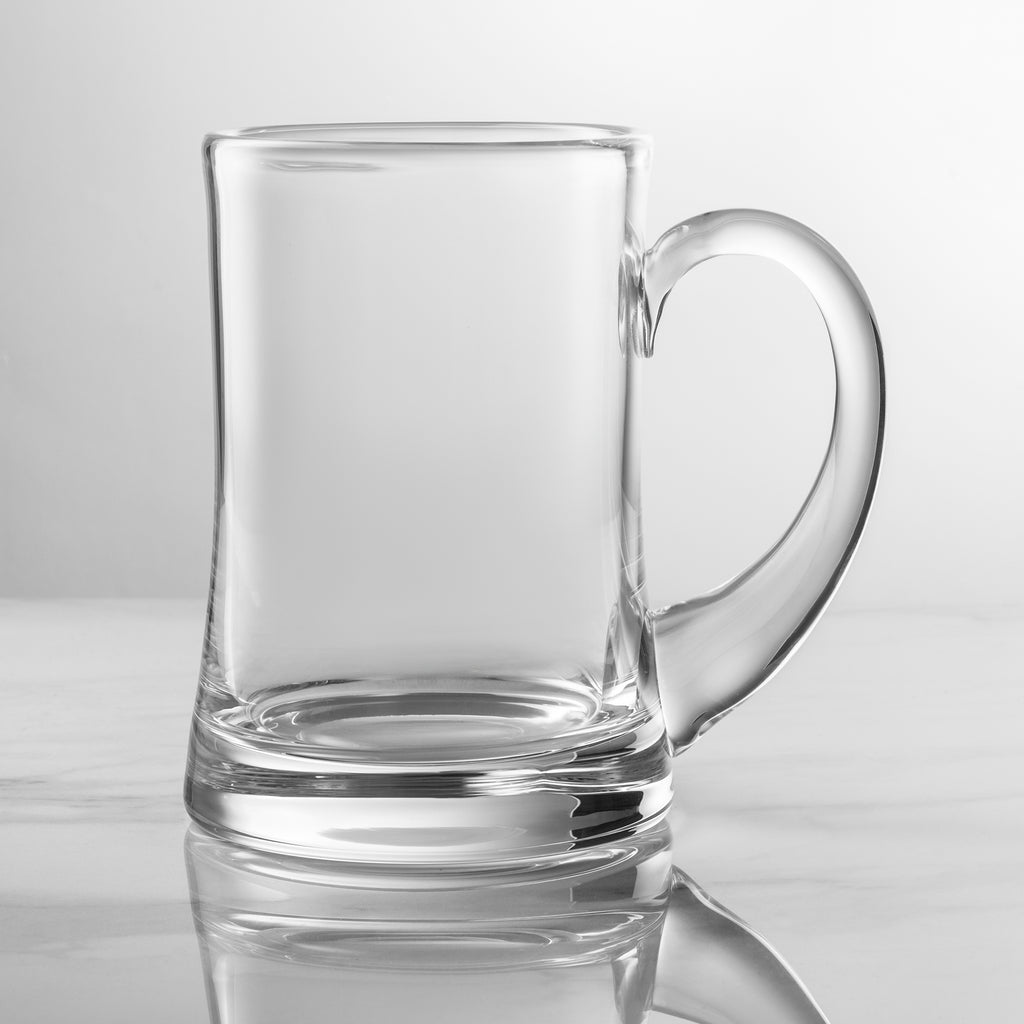 1 Pint Handmade Aleman Tankard Glass - Personalised Engraved - Culzean Gifts