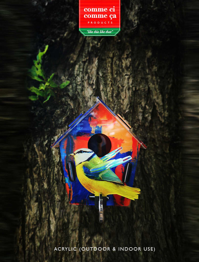 3d Bird wall art  - Abstract - Culzean Gifts