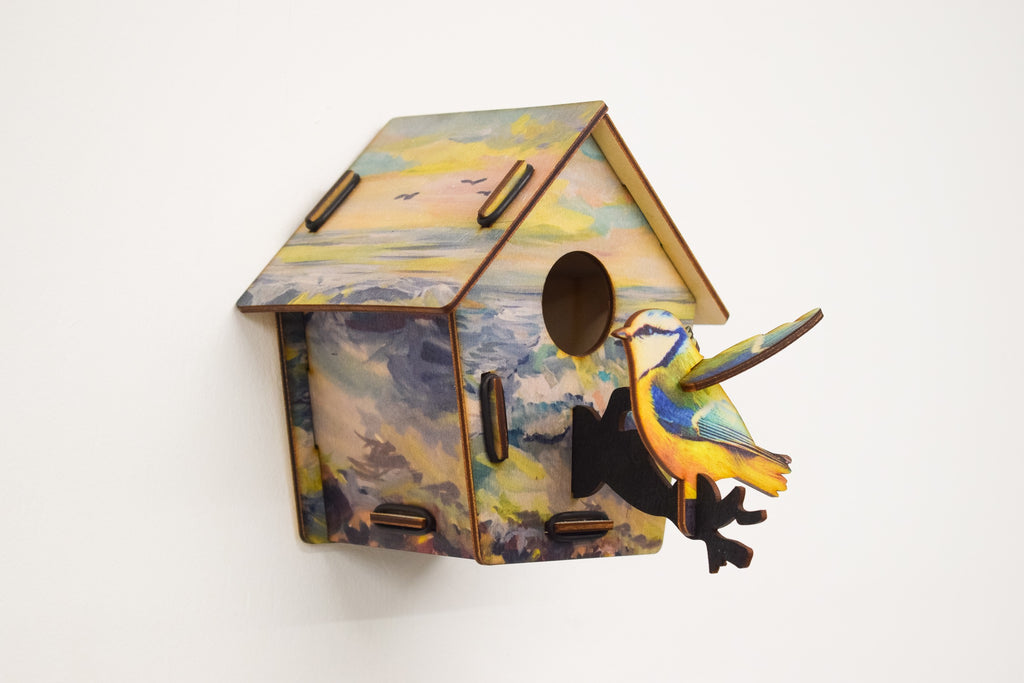 Bird House - Seascape - Culzean Gifts