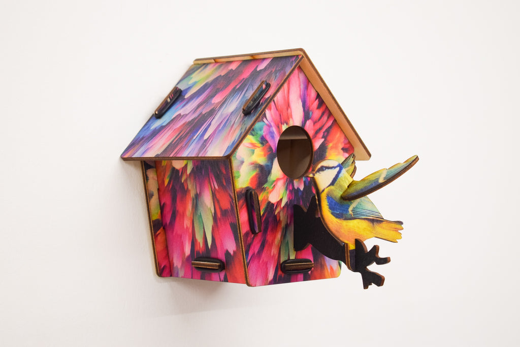 Bird House - Colour fest - Culzean Gifts