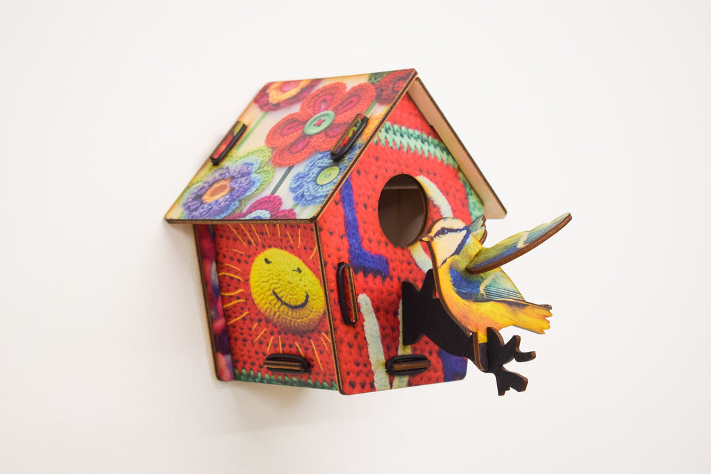 Bird House - Wool - Culzean Gifts