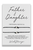 Wishstrings Father And Daughter Double Bracelet