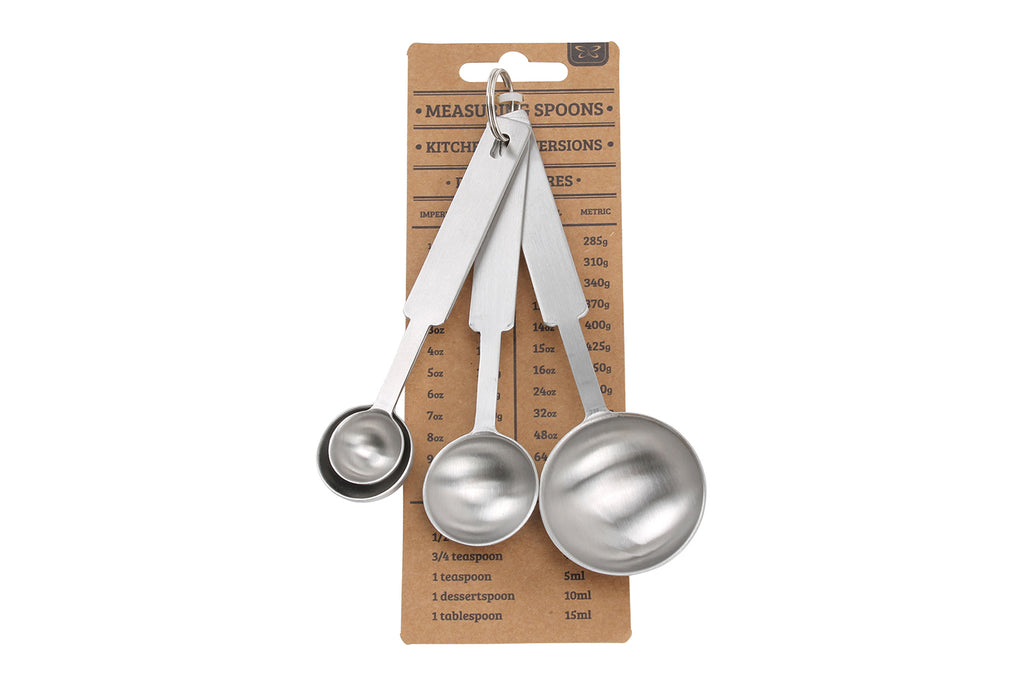 Kitchen Conversions Set of 4 Measuring Spoons - Culzean Gifts