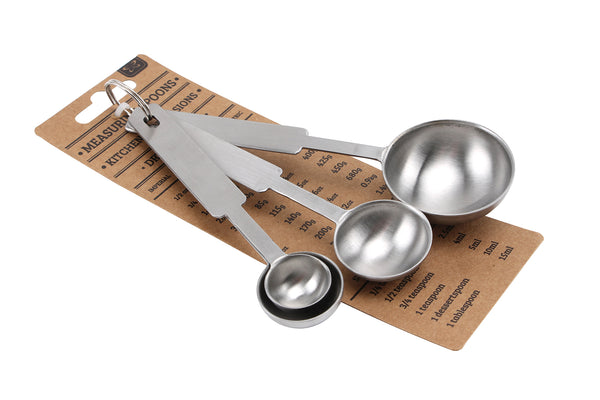 Kitchen Conversions Set of 4 Measuring Spoons - cookware, cooking gifts, Kitchen gifts - Culzean Gifts