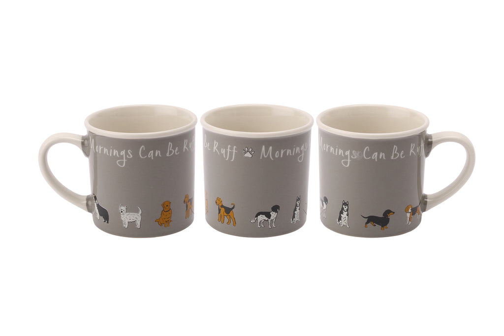 Paws For Thought Mornings Can Be... Stoneware Mug - Culzean Gifts