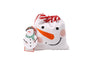 Snowman Kids Christmas Apron with Matching Drawstring Bag - Culzean Gifts